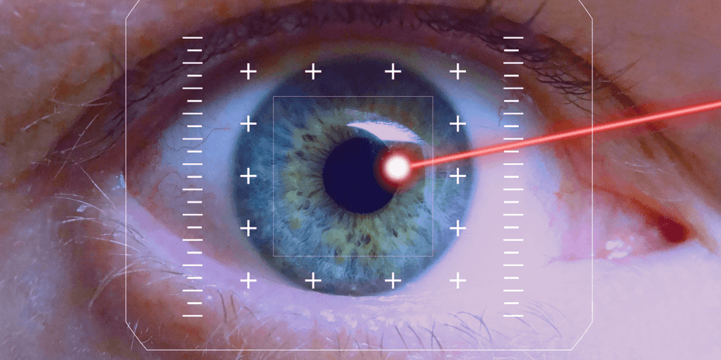 Laser light to perform lasik vision correction